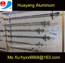 2013 new design aluminum curtain rod