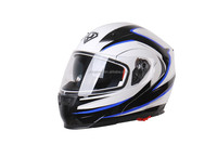 2015 YOHE ECE MOTORCYCLE HELMET WITH DOUBLE VISOR