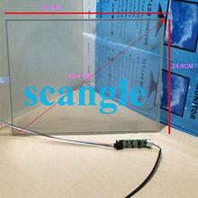 15 pulgadas Transparent Glass LCD Toque la pantalla de cristal