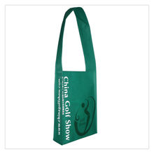 Eco Friendly Fashion long strap Non Woven Shoulder Bag Made In China