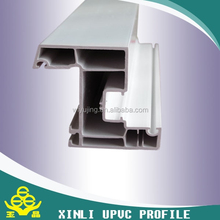 60 inward sash pvc profiles for making casement window&door ISO 9001 white color