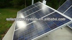 3000W for all family using and High quality grid switch solar billboard lighting system