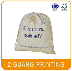 Wholesale Organic Cotton Drawstring Bag