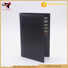 Hot selling RFID travel wallet genuine leather wallet for men