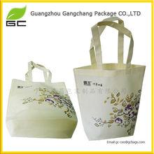 Customied reusable eco silk shopping bags