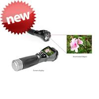 Portable mini camera torch light torch with CE certificate