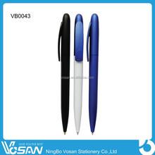 2015 Good Cheap Ball Pen Plastic Promotional Stick Ballpoint Pen