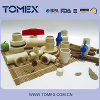 Best quality and good price cpvc pipe and fittings