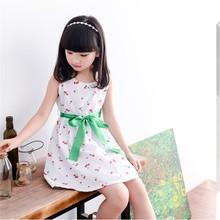 2015 summer new korean style brand cute girls dresses kids clothes children clothing kids dress collection