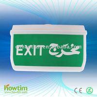 HT-A805/28 2xT5 8W emergency exit sign IP65