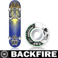 Backfire 2015 New Design Roller Derby Roller Street Series Sentinel Skateboard Leading Manufacturer