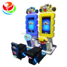 Coin operated funny electric car racing games