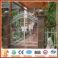 Garden arch gate Decorative wrought iron gates design