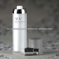 50ML Airless Bottle Acrylic Plastic Cylinder Container