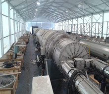 NY2251 making machines agricultural equipment extruder HDPE water supply pipe machine