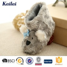 popular polar fleece animal baby shoes