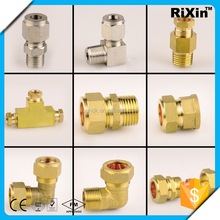 RX-1048 wholesale rg6 compression f connector union reducer fitting female connector