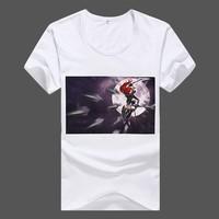 cheap wholesale fashion short sleeve plain white t shirts bulk with your logo