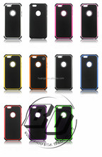 Newest Stylish PC + Silicone+TPU Combo football skin Cover Case For iPhone 6 lowest price