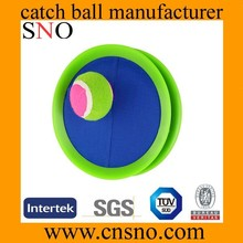 wholesale promotional colorful velcro catch ball game catch ball