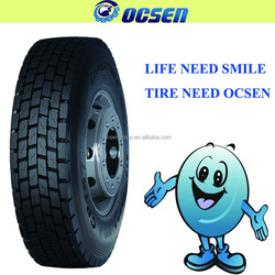 Excellent traction and traversable performance truck tire import from taiwan and china