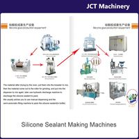 machine for making 300ml aquarium silicone adhesive