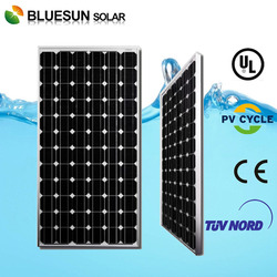Best sell bluesun high efficiency low price Mono 200W solar panel system for home use