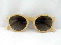 Wholesale Wood Sunglasses Hinges and Natural Bamboo Sunglasses with custom box