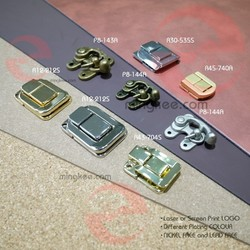 Vintage Antique Zinc Alloy Custom Metal for Wooden Box Latches