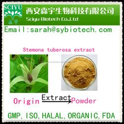 100% Natural Radix Stemonae Extract 4:1, 10:1