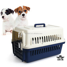 Pet airline transport carriers with IATA standard pet cage