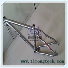 New design high light GR5 titanium road bicycle /bike frame