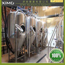 CE certificate beer production line conical fermentation tank beer 50l used stainless steel beer fermenter tanks for sale