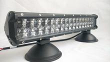 30000 hours long life led light bar, 4D lens led light bar 144W 23 inch, long life span led light bar c-r-e-e led chips