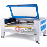 China CO2 double cutting head auto feeding leather/fabric/cloth/garment cutting machine lasers