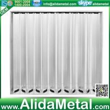 HVAC system Opposable blades damper OBD