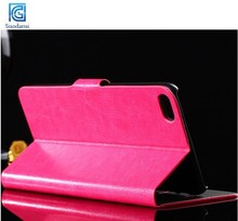 For iphone 6 plus Mix Colors Book Stand Side Flip Leather Wallet Case Cover