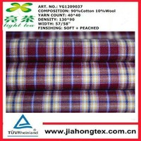 100% washable worsted merino wool suiting fabric