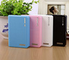 Wallet power bank,mobile phone 5200mah power bank,power bank with led light