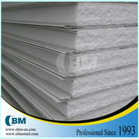 low cost EPS sandwich panel temporary walls