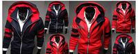 человек толстовка вершины спортивной новый спортивный костюм мужчины Толстовки кофты спортивный костюм мужской кардиган с капюшоном Куртка Пальто м-3xl