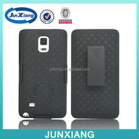 New arrival shell holster combo case for Galaxy note 4