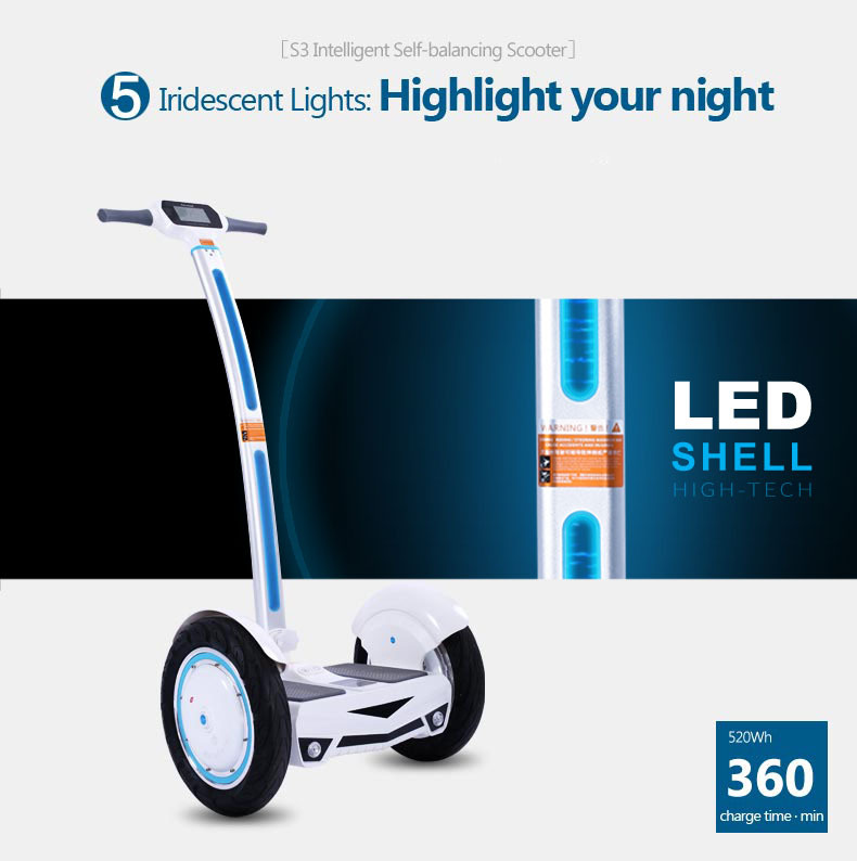 2014 Latest cheap off road electric chariot balance scooter