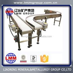 plastic tray conveyor line