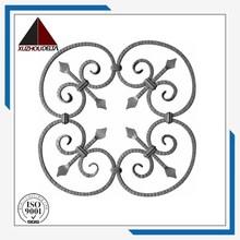 Iornament forjado ferro rosetas Made in China