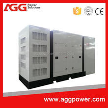 weather-proof Backup generator powered by MTU engine made in China