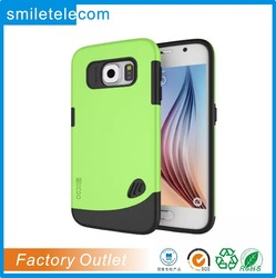 Manufacture provide 2D sublimation mobile phone case for samsung S6 Edge