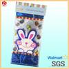 cute cartoon Easter candy bag/treat bag/cello bag printed rabbits