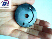 threaded water pump cover for auto transmission anodized aluminum