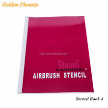 Temporary Airbrush Tattoo Makeup Stencil For Body Art Paint 160 English Letters and Other Designs